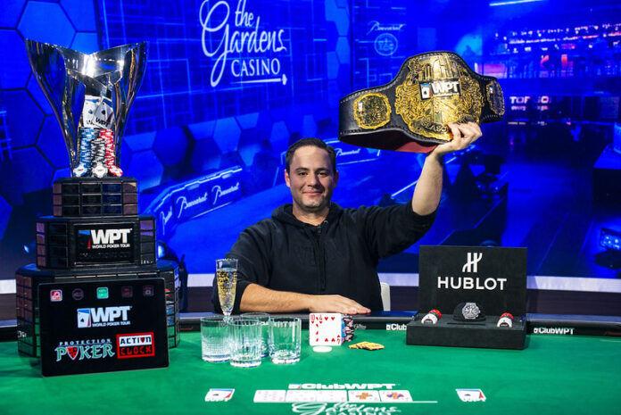 Чемпион WPT Gardens Poker
