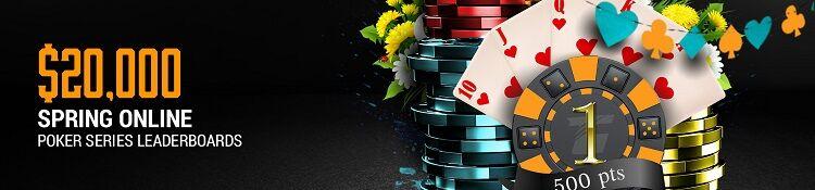 Spring Online Poker Series на Tiger Gaming