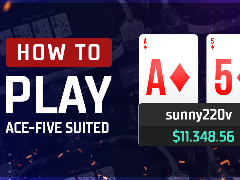 How to play Ace-Five suited in cash games