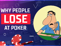 Why people lose at poker