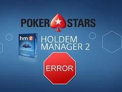 Не работает Холдем Менеджер 2 за СНГ-столами ПокерСтарс, что делать?