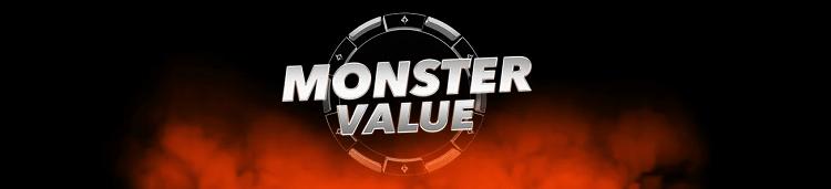 Акция Monster Value