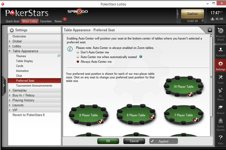 HM3 for PokerStars