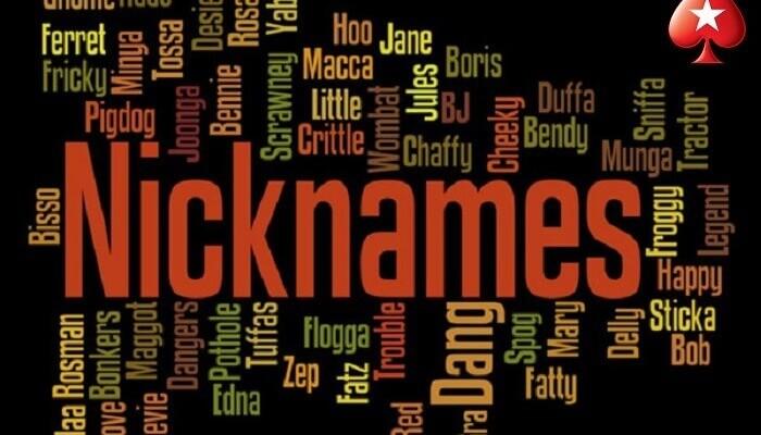nickname PokerStars