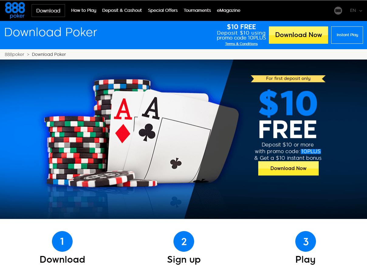 888poker downloading
