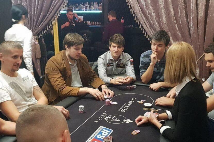 Урбанович в Aragon Poker Club