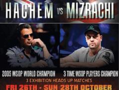 Джо Хашем и Майкл Мизрахи сыграют три показательных хедз-апа в Австралии
