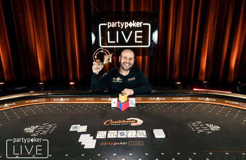 Роберто Романелло на Caribbean Poker Party 2018