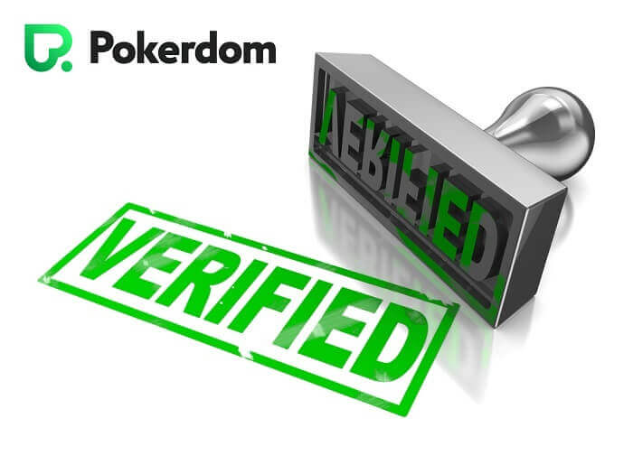 Verification at Pokerdom
