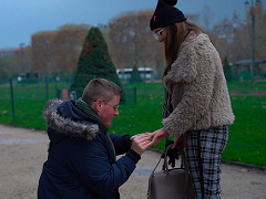 Джейми Стэплс сделал предложение руки и сердца своей девушке
