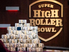 Super High Roller Bowl перенесли на декабрь