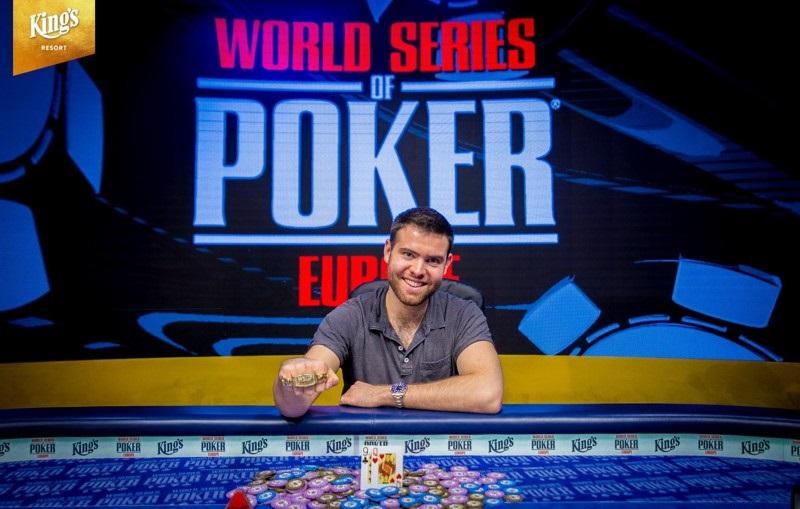 Джек Синклейр на WSOP Europe 2018