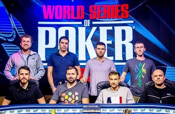 Финалисты WSOP Europe ME 2018