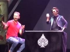 Даниэль Негреану и карточный фокус