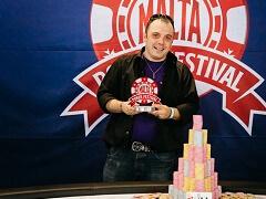 Итальянец выиграл 150 000€ в Grand Event Malta