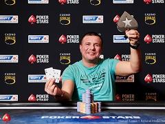 Стало известно имя победителя турнира EPT Прага за 10 300€