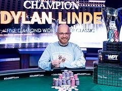 Американец выиграл 1 600 000$ в турнире WPT Five Diamond