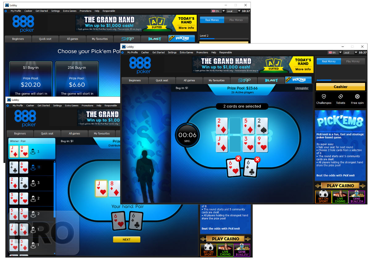 Pick'em8 Poker