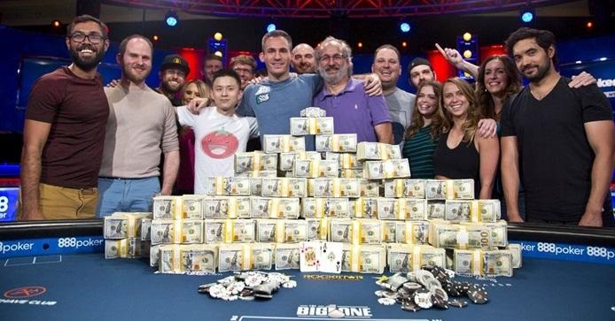 онлайн крупный выигрыш покер в