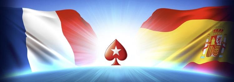 Франция и Испания покер