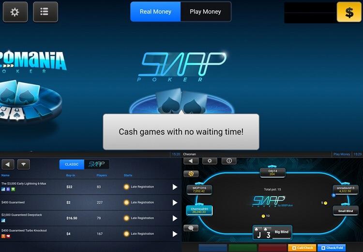 SNAP в мобильном приложении
