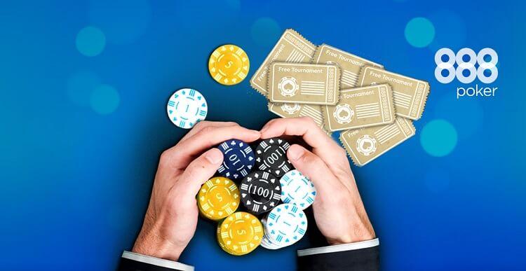 Бонусы 888poker