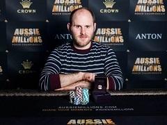 Сэм Гринвуд выиграл Aussie Millions ANTON Jewellery 50 000$ Challenge