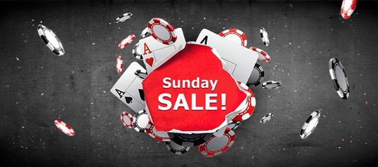 Sunday Sale 888Poker