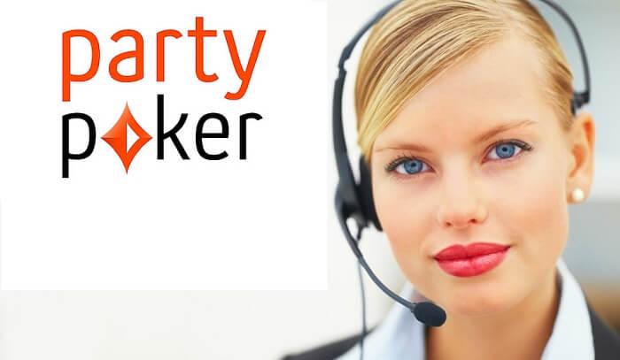 partypoker служба поддержки