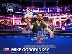 Майк Городинский – чемпион PLO-турнира на US Poker Open