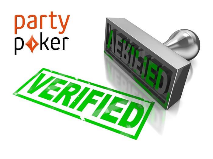 partypoker верификация