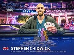 Стивен Чидвик выиграл второй турнир подряд