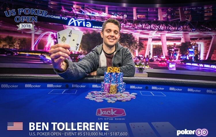 Бен Толлерен – чемпион $10k NLH US Poker Open