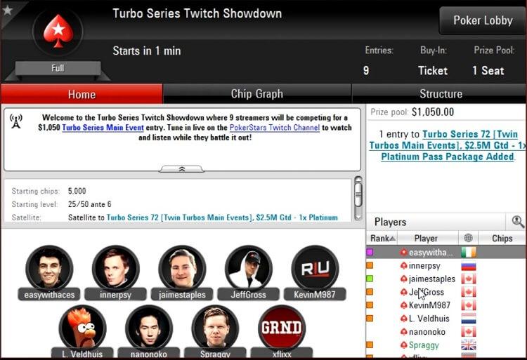 Turbo Series Twitch Showdown 2018