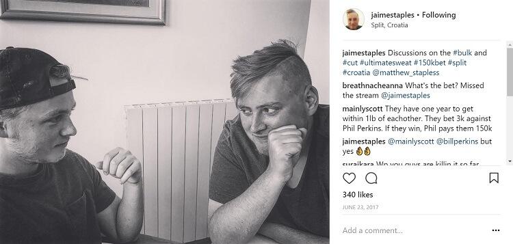 Мэтт и Джейми Стэплс июнь 2017