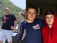Джейми Стэплс выиграл пари, похудев на 53 кг