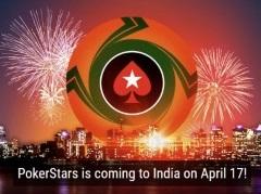 PokerStars будет запущен в Индии уже в апреле