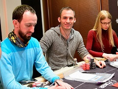 Джастин Бономо лидирует в топ-24 WPT Amsterdam Main Event
