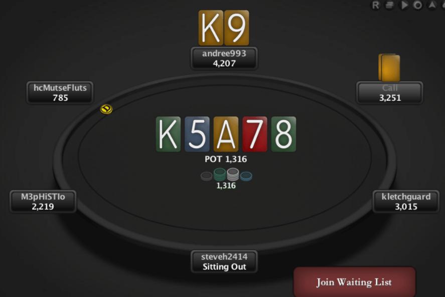 ПокерСтарс лейаут
