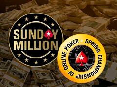 Украинец выиграл SCOOP Sunday Million за 530$