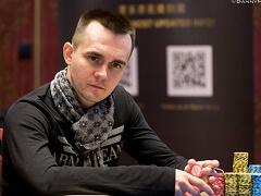 Никита Бодяковский в финале Мейн Ивента Triton Poker