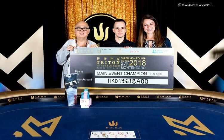 Никита Бодяковский на Triton Poker Super High Roller 2018