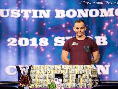 Джастин Бономо – чемпион Super High Roller Bowl 2018