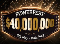 На Partypoker стартовала турнирная серия Powerfest
