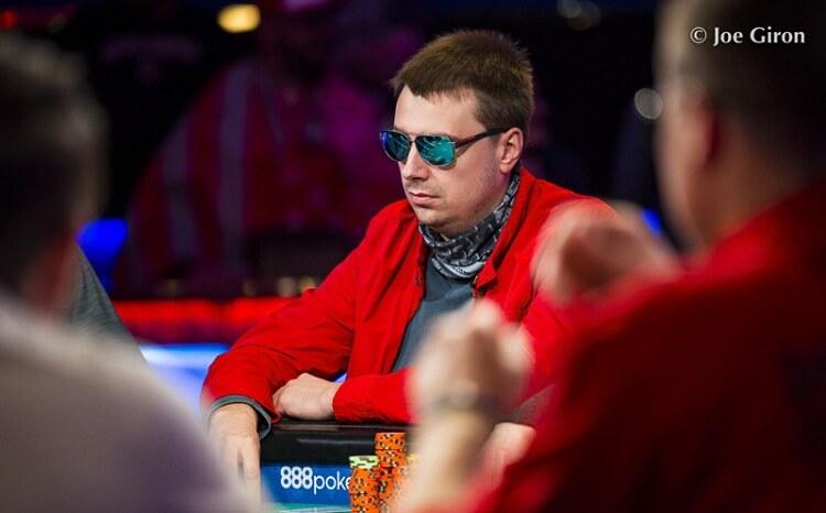 Игорь Сойка на WSOP 2018