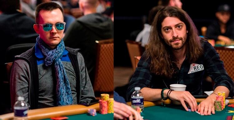 Никита Бодяковский и Игорь Курганов на WSOP 2018