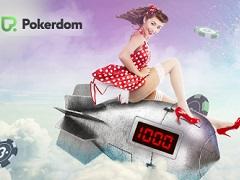 Бездепозитный бонус 1 000 рублей на PokerDom