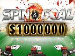 Spin&Goal на PokerStars: миллион долларов и бесплатные ставки на спорт
