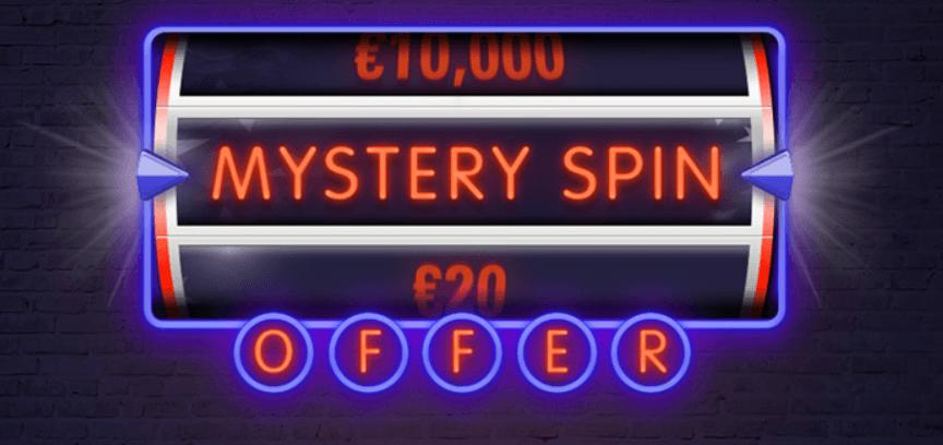 Mystery Spin Offer PokerStars es