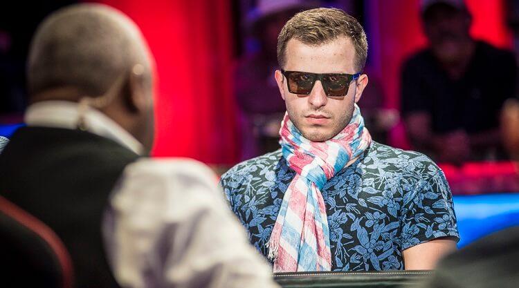 Артёма Металиди в финале WSOP
